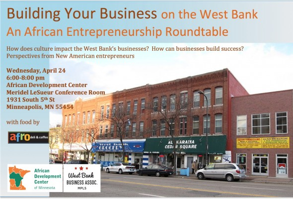 Special Event – Rescheduled! Building your Business on the West Bank